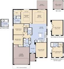 Centex Floor Plans 2010 by Our Suite The Optional Guest Suite Ilo Flex Floor Plan And