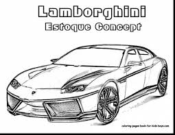 Fabulous Lamborghini Car Coloring Pages With Bugatti And Veyron Super Sport