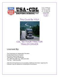 100 Trucking Schools In Florida Catalog USA CDL Driving School