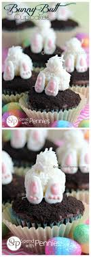 Bunny Butt Easter Cupcakes Spend With Pennies