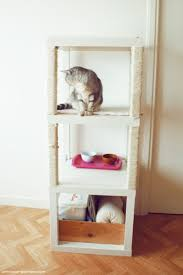 Used Ikea Lack Sofa Table by Cat Tree With Ikea Lack Ikea Hackers