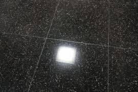 Black Terrazzo Floor Resurfacing