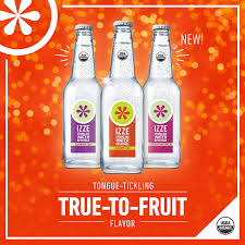 IZZE Organic Flavored Sparkling Water Beverage Variety Pack 12 Oz Glass Bottles Count Amazon Grocery Gourmet Food