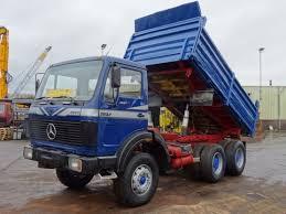 100 V10 Truck Mercedes Benz 2632 Kipper 6x4 ZF Good Condition Tipper Truck Snlcom