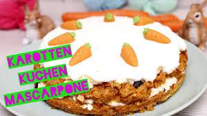 saftiger osterkuchen karottenkuchen mit frischkäse frosting