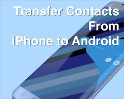 Transfer Contacts From iPhone to Android How To AppleToolBox