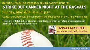 Strike Out Cancer Night At The Rascals - Siteman Cancer Center Strike Out Cancer Night At The Rascals Siteman Center St Charles County Community Calendar Septdec 2016 By Bjc Coloring Contest Fun At The Fair Hospitals Jager Boston Washington University Medical Campus Visiting Valvoline Instant Oil Change Peters Mo 4110 Mexico Now Seeking Exhibitors For 2011 Baby Kid Expo Scoop Goldfarb School Of Nursing Barnesjewish College Markets Recipe Book Hospital Addition Tarlton
