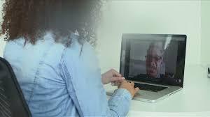 skype de bureau vidéoconférence travail de bureau hd stock 110 320 274