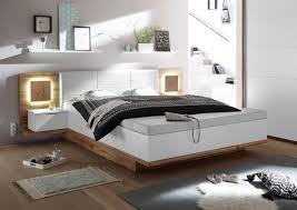 schlafzimmer komplett set 4 tlg xl bett 180 kleiderschrank 270 cm nachtkommoden weiß wildeiche