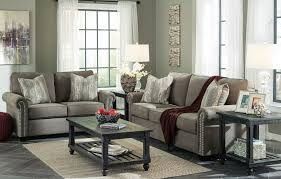 Levon Charcoal Sofa And Loveseat by Gilman Charcoal Sofa Sofas Living Room Furniture Living Room