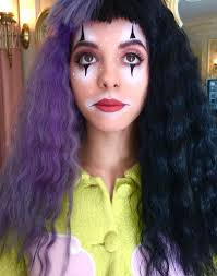 Pity Party Shoot Doll MakeupCostume MakeupClown MakeupHalloween MakeupMelanie Martinez