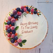 Send happy birthday wishes by writing name on birthday cake via NameBirthdayCakes Create birthday cake with name and photo