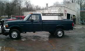 1996 Ford F - 250 Ford 4wd Truck With Plow