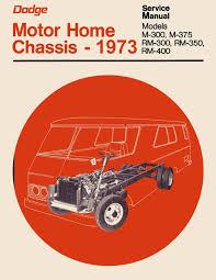 OEM Repair Maintenance Shop Manual Dodge Truck Class A Motor Home ...