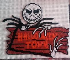 Halloween Perler Bead Projects by 1174 Skellington Panneau Jpg Jpeg Afbeelding 1600 1370 Pixels