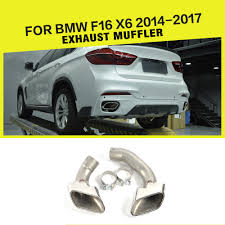 Car Exhaust Tips Muffler Pipes Tips Stainless Steel For BMW F16 X6 ... How To Clean Exhaust Tips Detailingwiki The Free Wiki For Detailers Awe Tuning Audi C75 A6 30t Touring Edition Exhaust Quad Outlet 16 Inch Tip100 Extra Hp Shitty_car_mods Akrapovic Tip Tail Pipe Carb End 692017 415 Pm Mbrp 6inch 4inch Inlet 12inch Length Rdallsperformance Chevy Truck Tips Carviewsandreleasedatecom Post Pics Of Your Dodge Diesel Stainless Steel Red Led Super Bright 8 Tip 5 Youtube 3 312 Black 304 Polishing What Did You Do A 42019 Engine Driveline