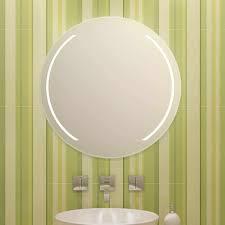 modena links rechts design runder spiegel beleuchtet mit leds