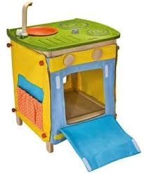 Affordable PlanToys Green Play Kitchen Center