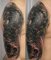 3d Mexican Eagle Tribal Tattoo