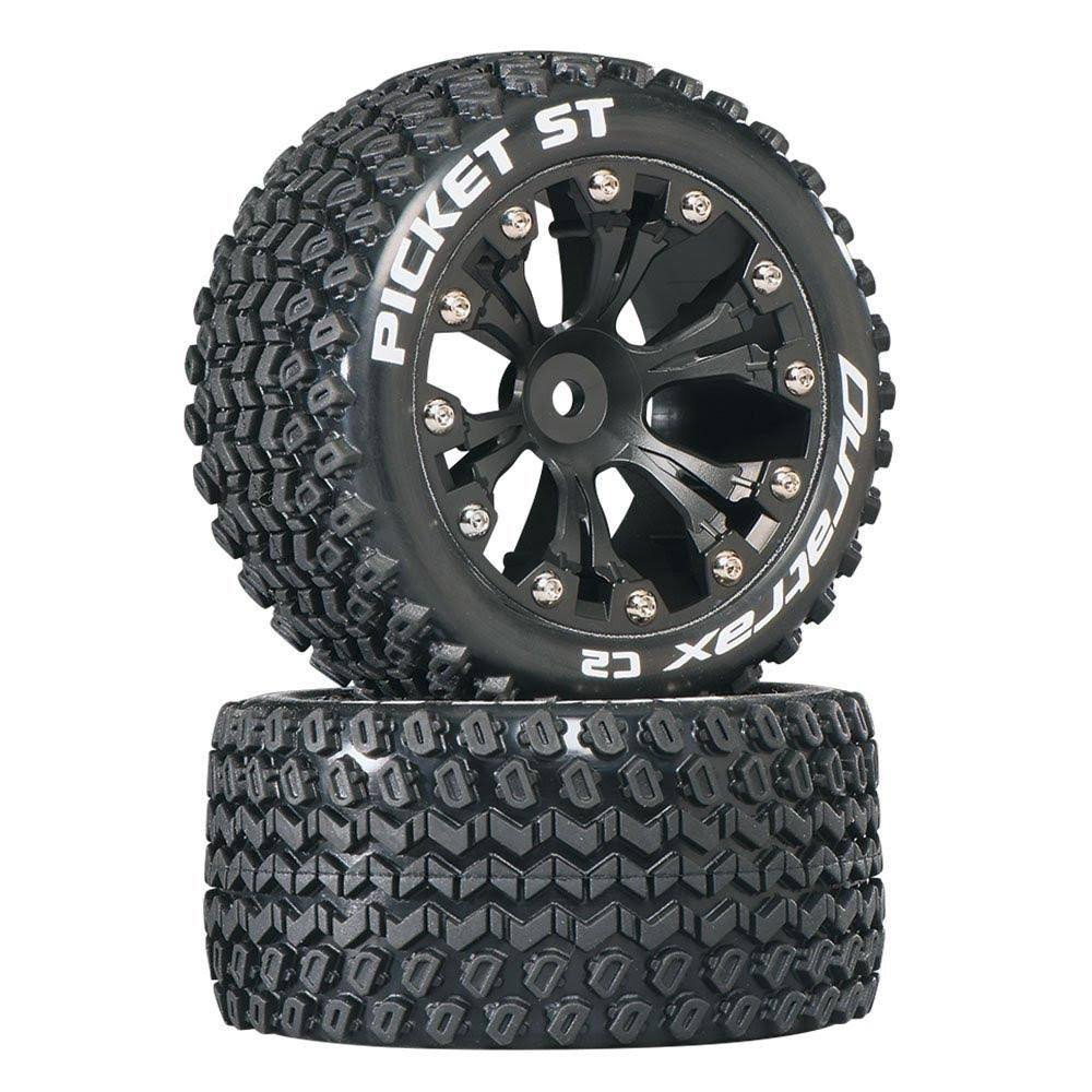 Duratrax Picket ST 2.8 Truck 2WD Mounted Rear C2 Wheels