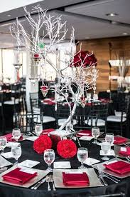 Black And Red Living Room Decorating Ideas by Powerful Red And Black Wedding Décor Ideas