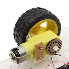 diy smart motor robot car chassis battery box kit speed encoder