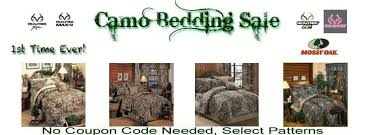 camo bedding sale