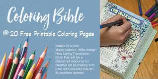 Coloring Bible 20 Free Printables
