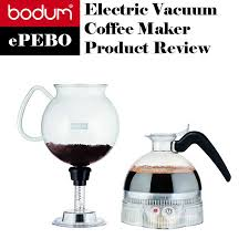 Bodum EPEBO Electric Vacuum Siphon Coffee Maker
