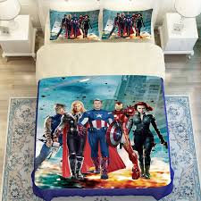 The Avengers Iron Man Full Queen Size Bedding Twin Full Queen