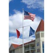 Nautical Flagpoles - Aluminum And Fiberglass Buy 15 Ft Commercial Flagpole With External Rope Halyard Rated At Silver Internal Cable Revolving Truck Systems For 5 Inch 02 Red Billet Alinum Flag Pole Speed Pole Llc 20 X 4 Coinental All Nations Company 2 Diameter Cap Style Flags Poles Toyota Tundra Holder Using Factory Rail Holes Rago 25 Vanguard Series 134 Inch Stationary Smu On Twitter Food Trucks Are Back At The Flagpole Please 16 Telescoping Fiberglass Kit Camco 51606 Double Sheaves