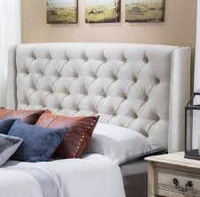 Seagrass Headboard And Footboard by Bedroom Design Attractive Ivory Queen Tufted Headboard Design