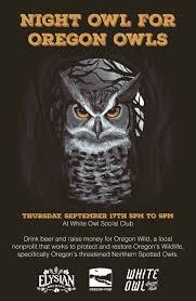 Elysian Pumpkin Ale by Elysian Night Owl Pumpkin Ale Benefit At The White Owl Social Club