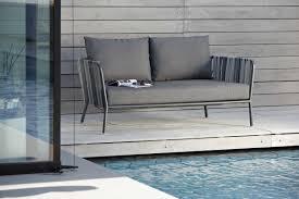 lounge sofa 2 sitzer space mit kissen hantermann
