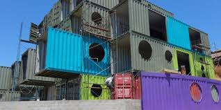 100 Sea Container Accommodation This Hotel Is Made Entirely Out Of Shipping Containers