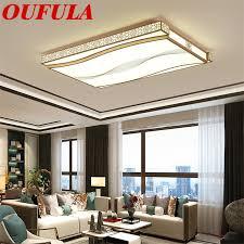 oufula kreative rechteckigen decke licht zeitgenössische hause geeignet für wohnzimmer esszimmer schlafzimmer