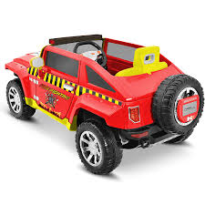 Amazon.com: Kid Motorz Fire Engine Hummer HX 12 V Electric One ... Kidtrax Firetruck With Powerwheels Parts Youtube Kid Trax Quads Tractors And Atv Collection Walmartcom 4 Guys Fire Truck Wiring Diagram Library Battery Powered Ride On Toys Cars Trucks For Kids Dodge Ram 3500 Dually 12v Rideon Black For Sale Old Fisher Price Power Wheels Lebdcom Paw Patrol 6 Volt Powered Toy By Ride On Fire Truck Metal Car Outdoor Pull Push Meccano Junior Rescue Cstruction Toys Enfantino Montreal About