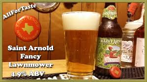 St Arnolds Pumpkinator 2014 by Saint Arnold Fancy Lawnmower Youtube