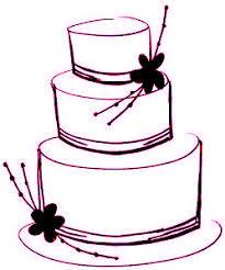 Wedding Cake clipart cute cake 3