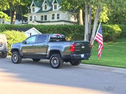 Chevy Colorado & GMC Canyon - View Single Post - G2Skier's ZR2 (pic ... Tow Hitch Cover With Flag Holder Inshane Designs How To Attach A The Bed Of Your Truck Youtube Flagpoletogo Telescopic Flagpoles Mounts And Tailgating 25 Pvc Stand Toolbox Compatible Bike Valet With Fork For Pickup Trucks 9 To Mount In No Drilling Pole For Best Image Of Vrimageco Want Fly Flag On Your Truck Ford F150 Forum Community Luxury V Star 1100 Wiki New Car Release Date 2019 20 Tool Boxes Utility Chests Accsories Uws Fire Us 1x15