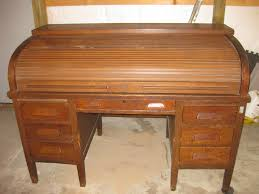 Ethan Allen Roll Top Desk by Willys Overland Roll Top Desk