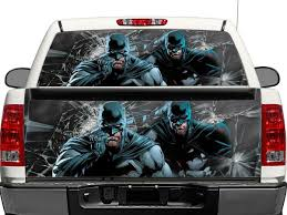 100 Rear Truck Window Decals Product Batman DC Comics OR Tailgate Decal Sticker Pick