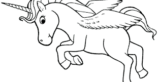 Unicorn With Wings Coloring Pages 80