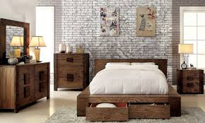 bedroom artificial brick walls and wall art with badcock