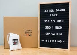 12u2033 X 18u2033 Black Felt Letter Board With Solid Oak Wood Frame 694