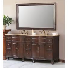 Antique Bathroom Vanity Double Sink by Home Bathroom 60