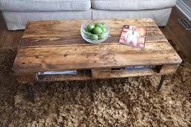 One Pallet Rustic Coffee Table