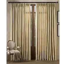 Restoration Hardware Curtain Rod Extension thai silk solid drapery