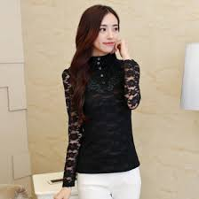 Latest Ladies Tops And Blouses Design Girls 2016 Blouse Women Shirt Model Lace Lady