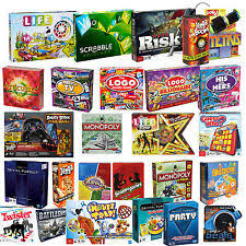 BOARD GAMES FAMILY CHILDREN ADULTS PARTY